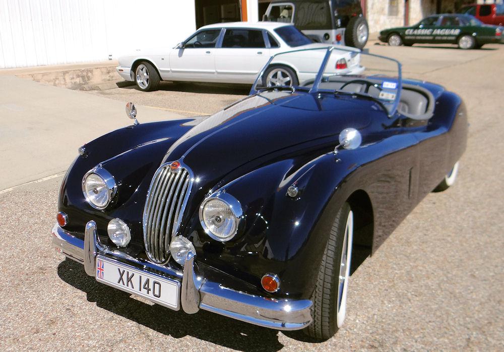 1956 jaguar xk140 roadster for sale