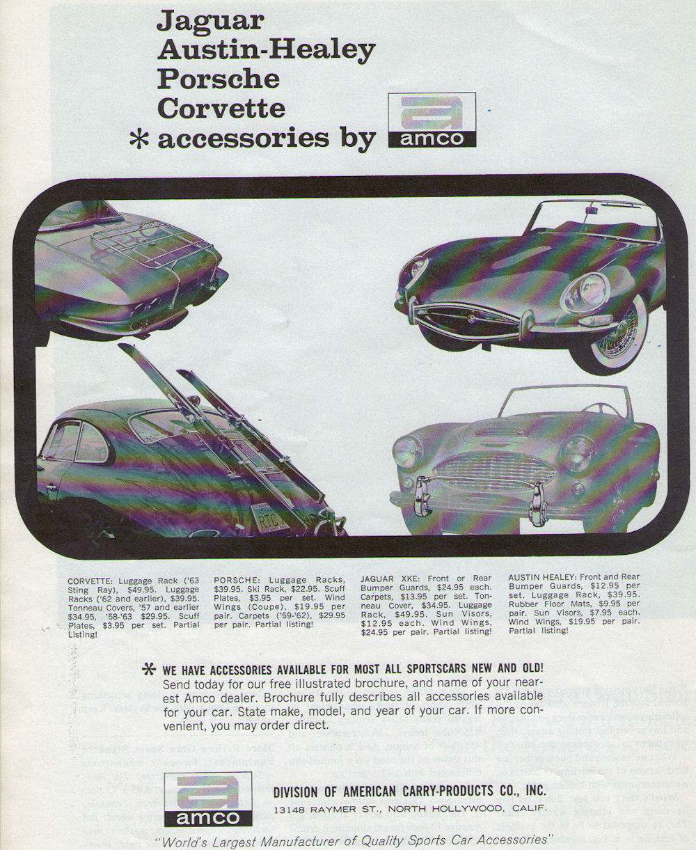 1965 Car  Driver  Road testing the new 42 E Type