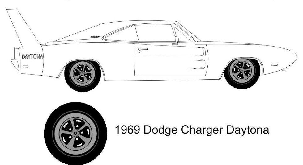 1969 dodge daytona coupe clone