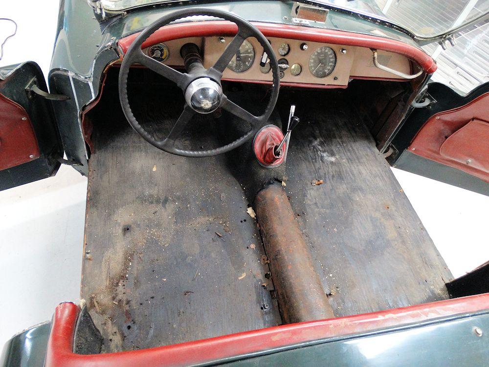 Alloy Bodied Jaguar Xk120 Roadster