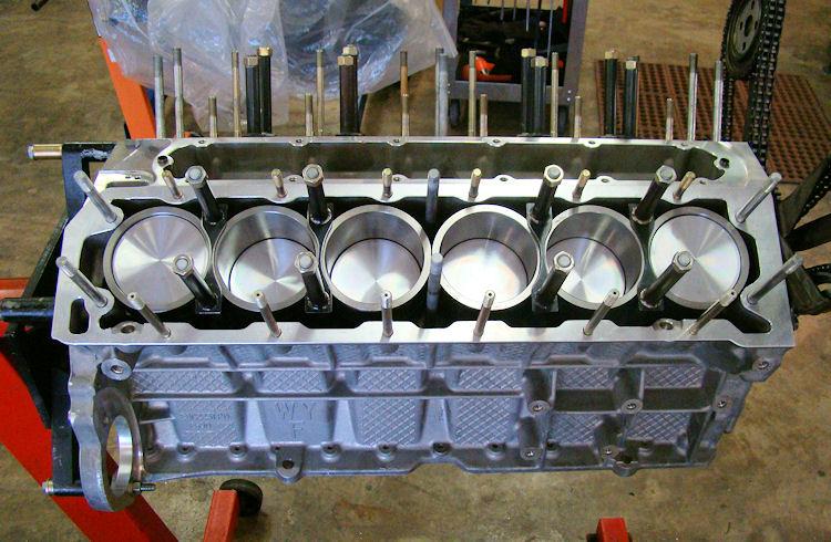 V12 E Type 6 8 Liter Stroker Engine Rebuild