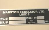 Marston radiator tag