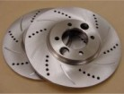 HP cross-drilled brake rotors