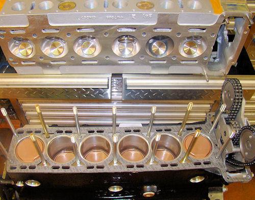 Classic Jaguar And Team Cj Engine Rebuilding